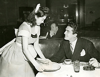 1947 Victor Mature at The Brown Derby