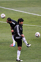 20120213: BRAGA, PORTUGAL - Ibrahim Toraman at the Besiktas JK training session before UEFA Europe League match against SC Braga.<br /> PHOTO: CITYFILES