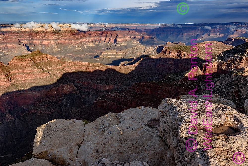 View to the western Grand Canyon from Point Sublime, Grand Canyon National Park, © David A. Ponton