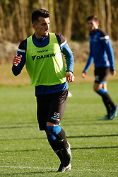 January 5, 2018 - San Roque, SPAIN - Club's Erhan Masovic pictured during the second day of the winter training camp of Belgian first division soccer team Club Brugge, in San Roque, Spain, Friday 05 January 2018. BELGA PHOTO BRUNO FAHY (Credit Image: © Bruno Fahy/Belga via ZUMA Press)