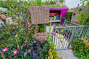 Space to Grow, The Montessori Centenary Childrens Garde - Press preview day at The RHS Chelsea Flower Show.