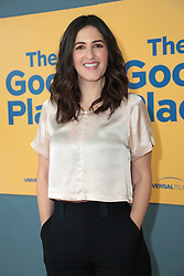 June 20, 2018 - Los Angeles, California, USA - 6/19/18.D''Arcy Carden at the Universal Television Network For Your Consideration Event for ''The Good Place'' held at the UCB Sunset Theatre in Los Angeles, CA. (Credit Image: © Starmax/Newscom via ZUMA Press)