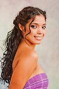 Samy Suarez lookbook, hair styled by Samy