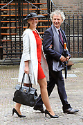 Aankomst van Kamerleden bij de Ridderzaal voor Prinsjesdag in Den Haag<br /> <br /> Op de foto : Roger van Boxtel