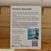 Damien Borowik - Laughing Buddha at Winter blossom fair: A celebration of east asian art, craft and design at China Exchange on 10 November 2018, London, UK.