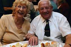 Couple enjoying event organised by the Radford Care Group,
