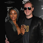 Maximillion Cooper and Eve Jeffers Cooper attend the Official launch party for the annual Gumball 3000 Rally took place at Proud Embankment on August 4 2018, London, UK.