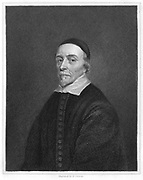 William Harvey (1578-1657) English physician: circulation of the blood. Engraving