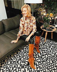 """Mandy Bork releases a photo on Instagram with the following caption: """"Spending my day in beautiful amsterdam together with @bestsecret and finding my dream Saint Laurent boots \u2728\ud83e\udd70 #BESTSECRETxAMS #BestSecret #MyBestSecret   *anzeige/ad"""". Photo Credit: Instagram *** No USA Distribution *** For Editorial Use Only *** Not to be Published in Books or Photo Books ***  Please note: Fees charged by the agency are for the agency's services only, and do not, nor are they intended to, convey to the user any ownership of Copyright or License in the material. The agency does not claim any ownership including but not limited to Copyright or License in the attached material. By publishing this material you expressly agree to indemnify and to hold the agency and its directors, shareholders and employees harmless from any loss, claims, damages, demands, expenses (including legal fees), or any causes of action or allegation against the agency arising out of or connected in any way with publication of the material."""