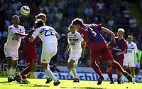 Photo:Alan Crowhurst.<br />Crystal Palace v Sampdoria,Pre season friendly,07/08/2004.Mark Hudson goes close with a header.