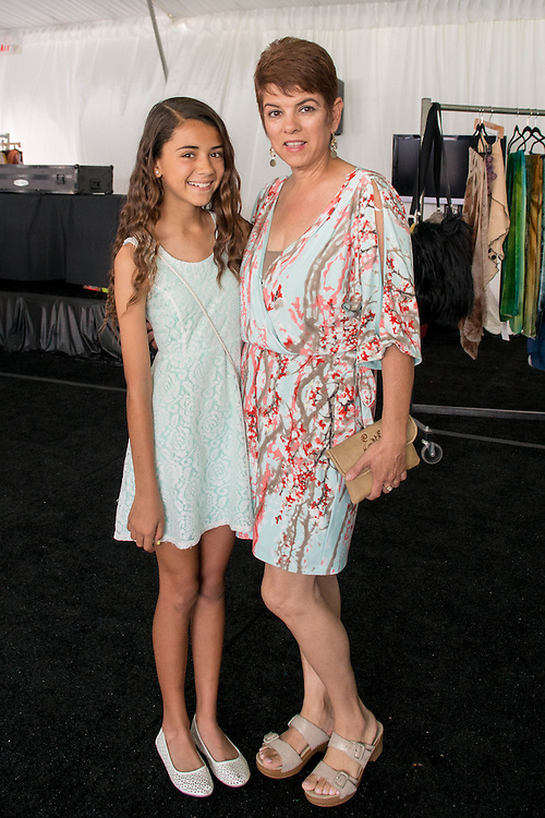 Designers from the hit Bravo TV show, Project Runway, show their work in a trunk show for Fashion Week El Paseo in Palm Desert, California. Designers include Patricia Michaels, Daniel Esquivel, Dom Streater, and Michelle Lesniak. Photos by Tiffany L. Clark