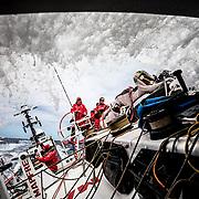Leg 02, Lisbon to Cape Town, day 06, on board MAPFRE. Photo by Ugo Fonolla/Volvo Ocean Race. 10 November, 2017