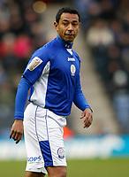 Photo: Steve Bond/Richard Lane Photography. Leicester City v Scunthorpe United. Coca Cola Championship. 13/02/2010. Substitute Norberto Solano