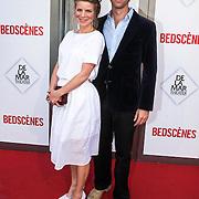 NLD/Amsterdam/20140622 - Premiere Bedscenes, Rosa Reuten en partner