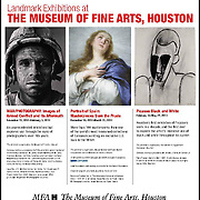 Poster for WAR/PHOTOGRAPHY Images of Armed Conflict and its Aftermath at the Museum of Fine Arts Houston 2012.