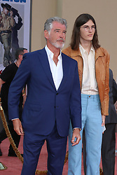 July 22, 2019 - Los Angeles, CA, USA - LOS ANGELES - JUL 22:  Pierce Brosnan, Dylan Brosnan at the ''Once Upon a Time in Hollywood'' Premiere at the TCL Chinese Theater IMAX on July 22, 2019 in Los Angeles, CA (Credit Image: © Kay Blake/ZUMA Wire)