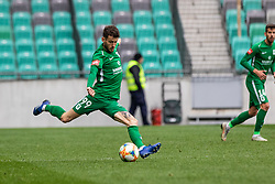 Suljic Asmir of NK Olimpija Ljubljana during football match between NK Olimpija Ljubljana and NK Aluminij in Round #27 of Prva liga Telekom Slovenije 2018/19, on April 14th, 2019 in Stadium Stozice, Slovenia Photo by Matic Ritonja / Sportida