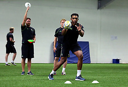 Christian Scotland-Williamson of Worcester Warriors catches a ball during pre-season training - Mandatory by-line: Robbie Stephenson/JMP - 07/06/2016 - RUGBY - Worcester Warriors - Pre-season training session