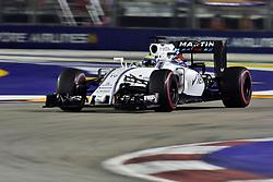 September 16, 2016 - Singapur, Singapur - Motorsports: FIA Formula One World Championship 2016, Grand Prix of Singapore, .#19 Felipe Massa (BRA, Williams Martini Racing) (Credit Image: © Hoch Zwei via ZUMA Wire)
