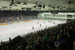 Ice-hockey match between Slovenia and Austria in Slovenia Euro ice hockey challenge, on November 10, 2012 at Hala Tivoli, Ljubljana, Slovenia. (Photo By Grega Valancic / Sportida)