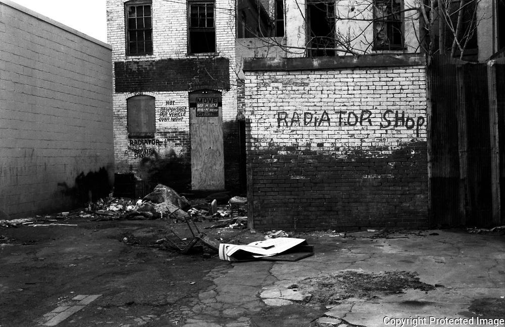 14th Street Alley NW Washington DC, 1986