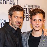 NLD/Amsterdam/20150309 - Premiere Fucking Perfect, Sergio Herman en zakenpartner Syrco Bakker