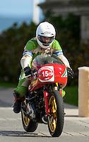 29-09-2013 Santander<br /> IV Gran Carrera Motos Clasicas en el Palacio de la Magdalena<br /> Alejandro Montero Palacio , con la moto Ducati Pantah 500<br /> Fotos: Juan Manuel Serrano Arce