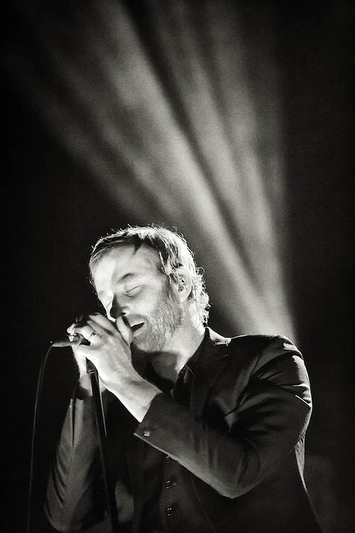 The National perform at The Bill Graham Civic Auditorium - 12/3/11