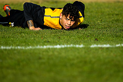 Jacob Umaga of Wasps during training ahead of the European Challenge Cup fixture against SU Agen - Mandatory by-line: Robbie Stephenson/JMP - 18/11/2019 - RUGBY - Broadstreet Rugby Football Club - Coventry , Warwickshire - Wasps Training Session