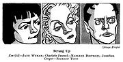 Stage Fright ; Jane Wyman , Marlene Dietrich and Richard Todd..