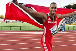 mens 400 meters, Machel Cedenio, Trinidad and Tobago