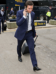 Manchester City's Frank Lampard arrives at Manchester Airport to board the team flight to Barcelona ahead of the UEFA Champions League second leg match against Barcelona - Photo mandatory by-line: Matt McNulty/JMP - Mobile: 07966 386802 - 17/03/2015 - SPORT - Football - Manchester - Manchester Airport - Barcelona v Manchester City - UEFA Champions League