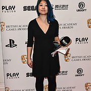 GINX Esports TV attends the British Academy (BAFTA) Games Awards at Queen Elizabeth Hall, Southbank Centre  on 4 March 2019, London, UK.