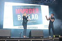 West End Live 2016; Trafalgar Square; London UK; 18-19 June 2016; Photo by Brett D. Cove; Ramin Karimloo; Kerry Ellis; Murder Ballad