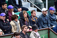 Mirka FEDERER - 31.05.2015 - Jour 8 - Roland Garros 2015 <br />