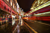 Regents Street @ Picadilly Circus, London