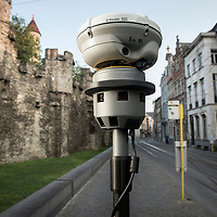 Ghent, Belgium, 07 September 2014<br /> Photo report about the Trimble V10 Imaging Rover.<br /> Trimble integrates a wide range of positioning technologies including GPS, laser, optical and inertial technologies with application software and wireless communications to provide complete commercial solutions. <br /> Photo: Ezequiel Scagnetti