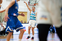 Teja OBLAK of Slovenia during basketball match qualifications for European Championship, round 1, between national teams Slovenia and Greece in Arena Celje - Center, 14. November, Ljubljana, Slovenia. Photo by Grega Valancic / Sportida