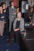 LYNN BARBER, Literary Review  40th anniversary party and Bad Sex Awards,  In & Out Club, 4 St James's Square. London. 2 December 2019