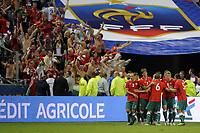 FOOTBALL - UEFA EURO 2012 - QUALIFYING - GROUP D - FRANCE v BELARUS - 3/09/2010 - PHOTO JEAN MARIE HERVIO / DPPI - JOY BELARUS