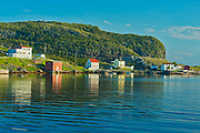 FIshing village at sunrise. Bonavista Bay.<br />