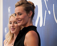 Ludivine Sagnier and Cécile de France at the The Young Pope film photocall at the 73rd Venice Film Festival, Sala Grande on Saturday September 3rd 2016, Venice Lido, Italy.