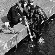 Zoekactie wapen duikers Westkade Huizen