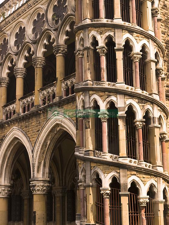 July 21, 2019 - Close Up Of Building, Bombay, India (Credit Image: © Keith Levit/Design Pics via ZUMA Wire)