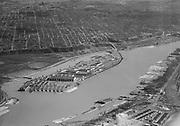 Ackroyd 00467-1. Swan Island aerials. January 25, 1948