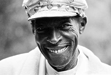 Charles Brown, Santa Cruz Blues Festival, 1996