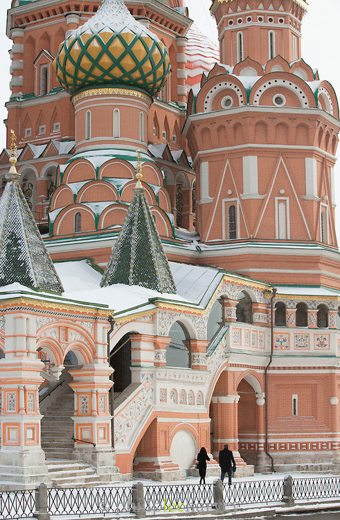 The Cathedral of Vasily the Blessed, commonly known as Saint Basil's Cathedral, is a former church in Red Square in Moscow, Russia