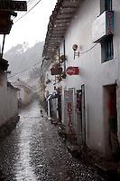 Thunderstorm in Cusco, Peru