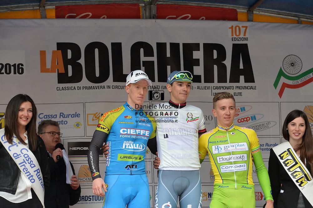 107° Giro della Bolghera, Trofeo Italo Garbari categoria under 23, Marco Corrà Trento 28 Marzo 2016 © foto Daniele Mosna