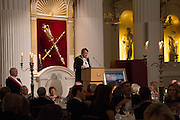 THE LORD MAYOR OF LONDON, The National Trust for Scotland Mansion House Dinner. Mansion House, London. 16 October 2013